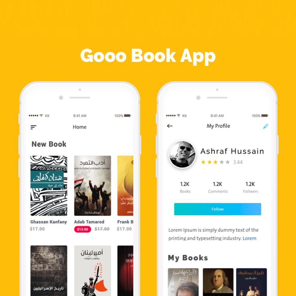 Go Book App.